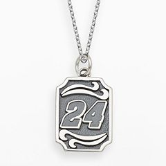 Insignia Collection NASCAR Jeff Gordon Sterling Silver '24' Pendant