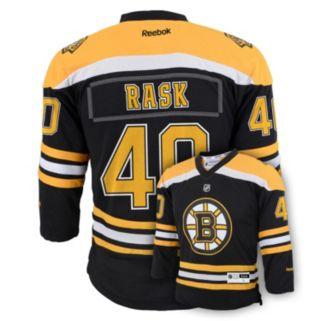 Boys 8-20 Reebok Boston Bruins Tuukka Rask NHL Replica Jersey