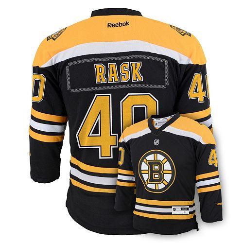 best sneakers aaee8 aaa2a Boys 8-20 Reebok Boston Bruins Tuukka Rask NHL Replica ...