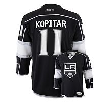 Boys 8-20 Reebok Los Angeles Kings Anze Kopitar NHL Replica Jersey