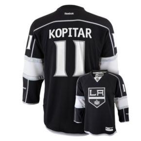 Boys 8-20 Reebok Los Angeles Kings Anze Kopitar NHL Replica Jersey