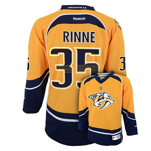 huge discount 3eb27 0683e Boys 8-20 Reebok Nashville Predators Pekka Rinne NHL ...