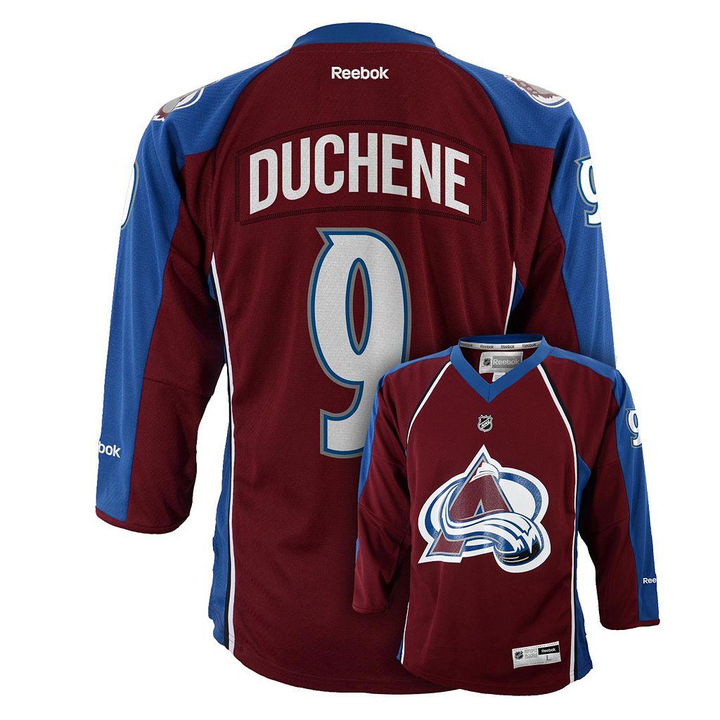 Boys 8-20 Reebok Colorado Avalanche Matt Duchene NHL Replica Jersey