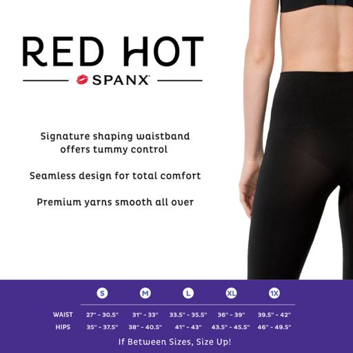 Red Hot by Spanx Shaping Leggings - 1663