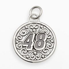 Insignia Collection NASCAR Jimmie Johnson Sterling Silver '48' Pendant