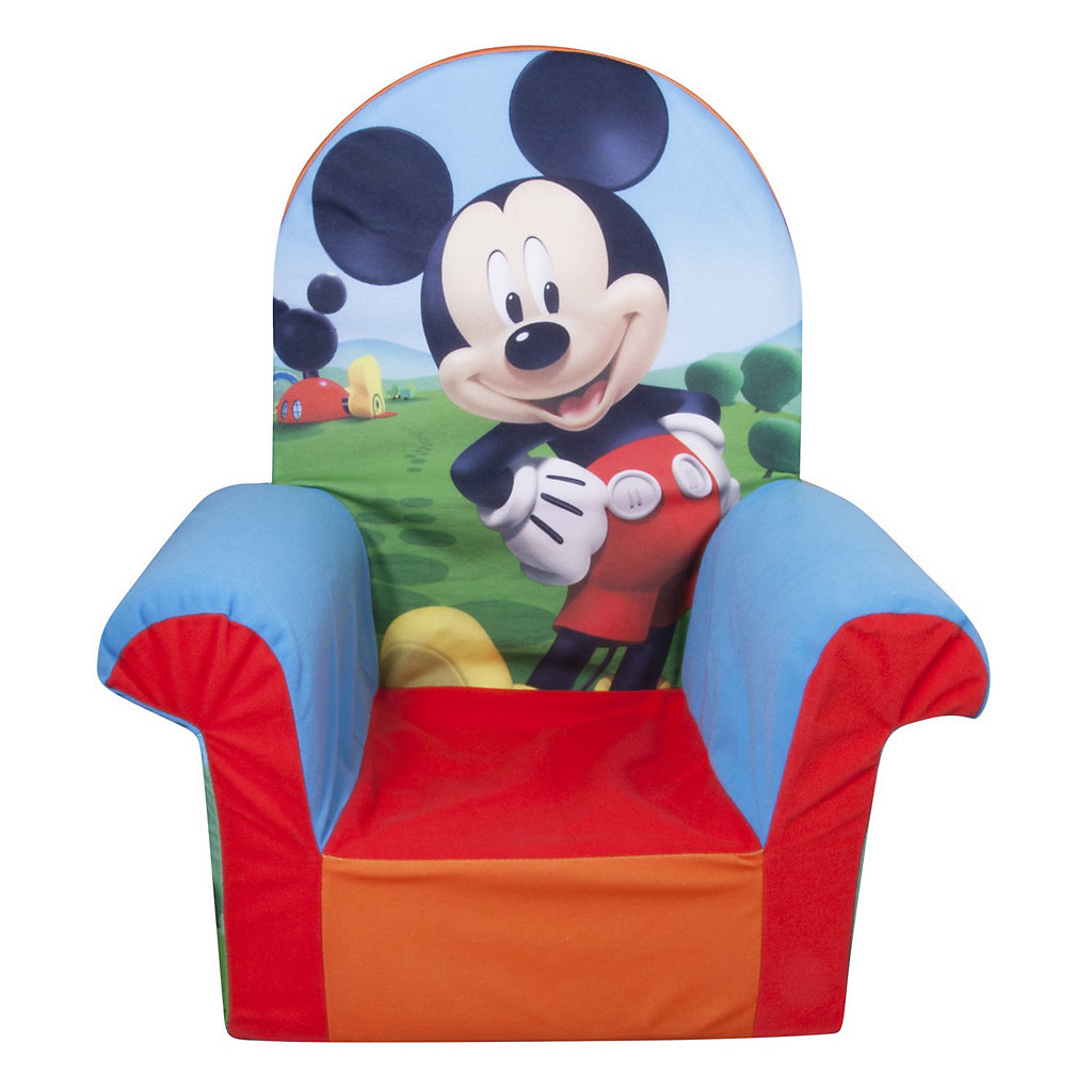 Disney S Mickey Mouse Club House Chair By Marshmallow Furniture Kohls