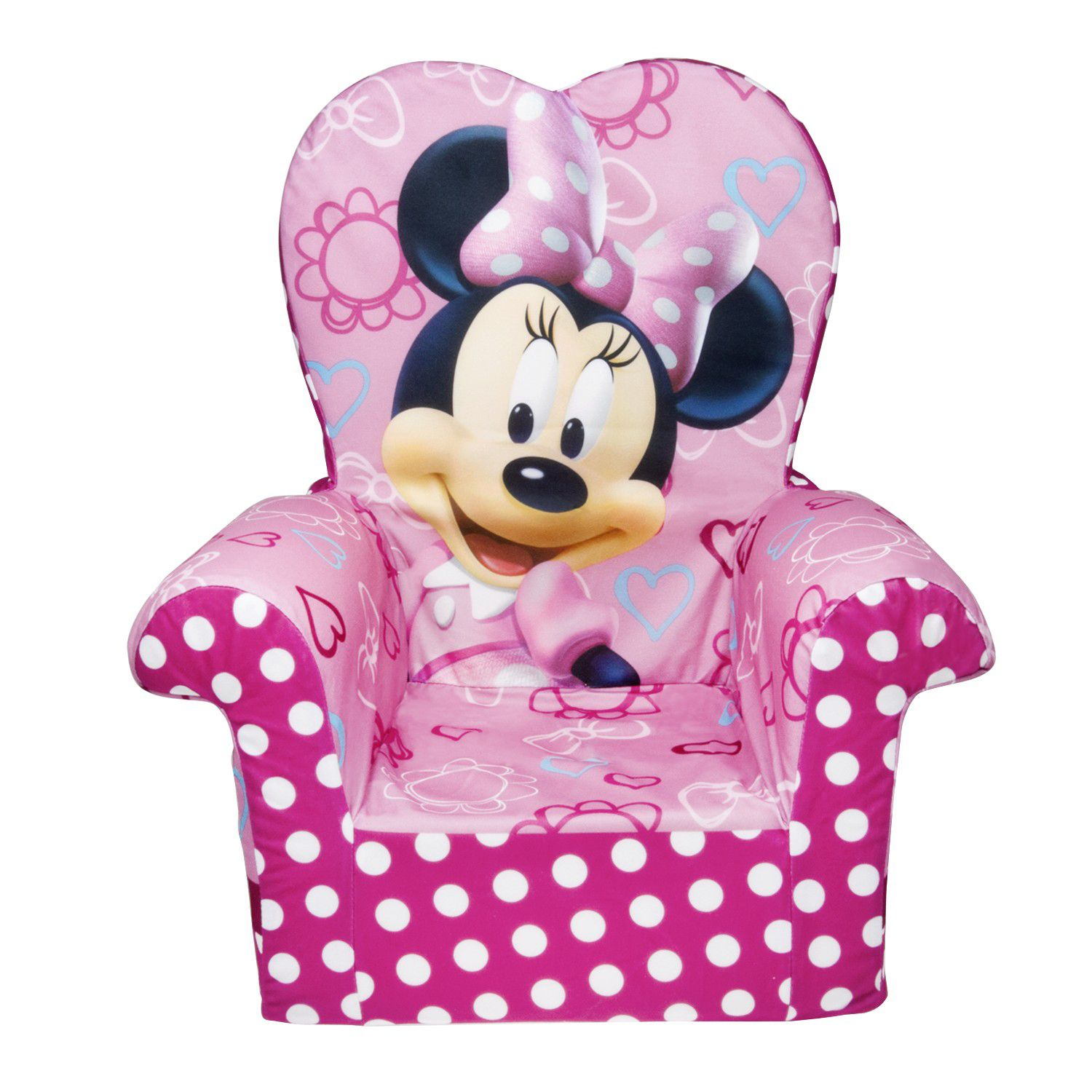 Minnie Mouse Table And Chairs Durable Disney Pc Kids