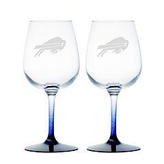 Buffalo Bills 2-pc. Wine Glass Set