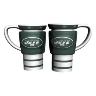 New York Jets 2-pc. Travel Coffee Mug Set