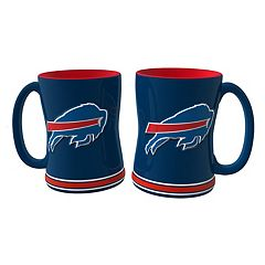 Buffalo Bills 2-pc. Relief Coffee Mug Set