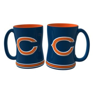 Chicago Bears 2-pc. Relief Coffee Mug Set