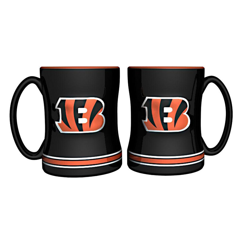 Cincinnati Bengals 2-pc. Relief Coffee Mug Set