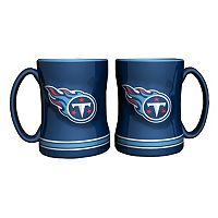 Tennessee Titans 2 pc Relief Coffee Mug Set