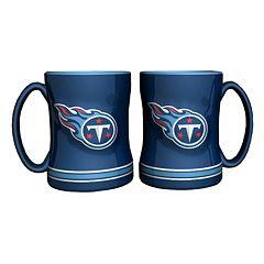Tennessee Titans 2-pc. Relief Coffee Mug Set
