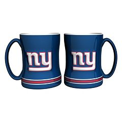 New York Giants 2-pc. Relief Coffee Mug Set