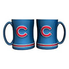 Chicago Cubs 2 pc Relief Coffee Mug Set