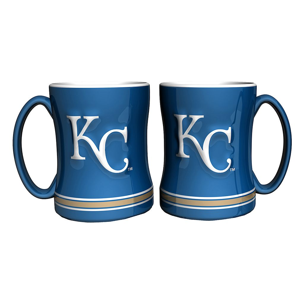 Kansas City Royals 2-pc. Relief Coffee Mug Set