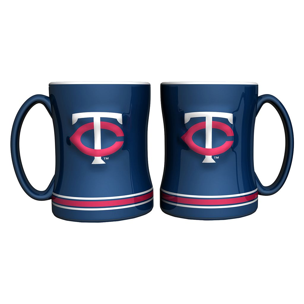 Minnesota Twins 2-pc. Relief Coffee Mug Set