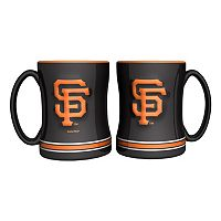 San Francisco Giants 2-pc. Relief Coffee Mug Set