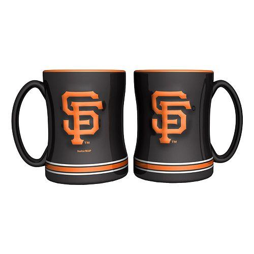 San Francisco Giants 2-pc. Relief Coffee Mug Set