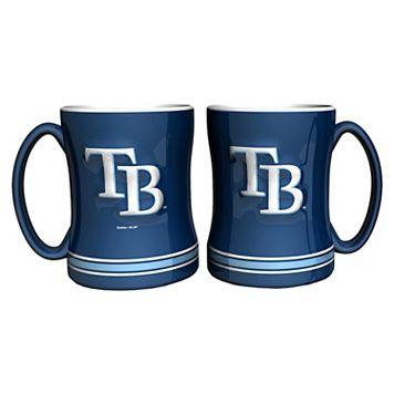 Tampa Bay Rays 2-pc. Relief Coffee Mug Set