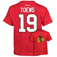 Reebok Chicago Blackhawks Jonathan Toews Premier Tee - Boys 8-20