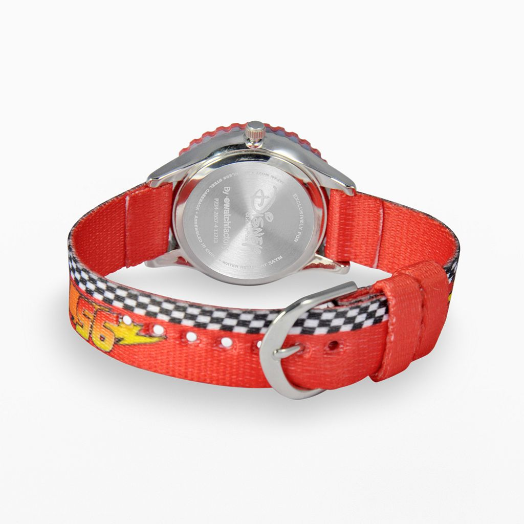 Disney / Pixar Cars Lightning McQueen Kids' Time Teacher Watch