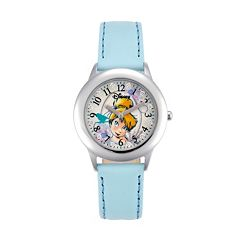 Disney Fairies Tinker Bell Juniors' Leather Watch