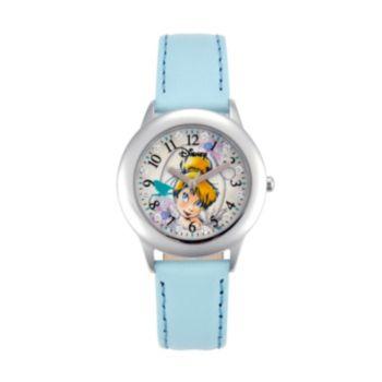Disney Fairies Tinker Bell Juniors' Leather Watch