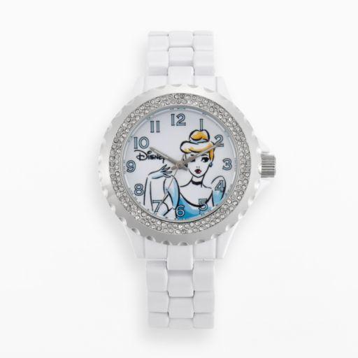Disney Princess Cinderella Women's Crystal Watch
