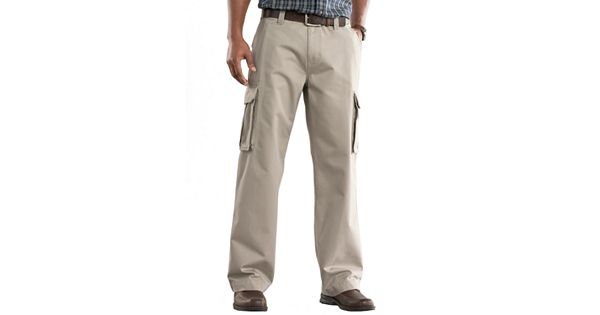 Men S Sonoma Goods For Life Relaxed Fit Twill Cargo Pants