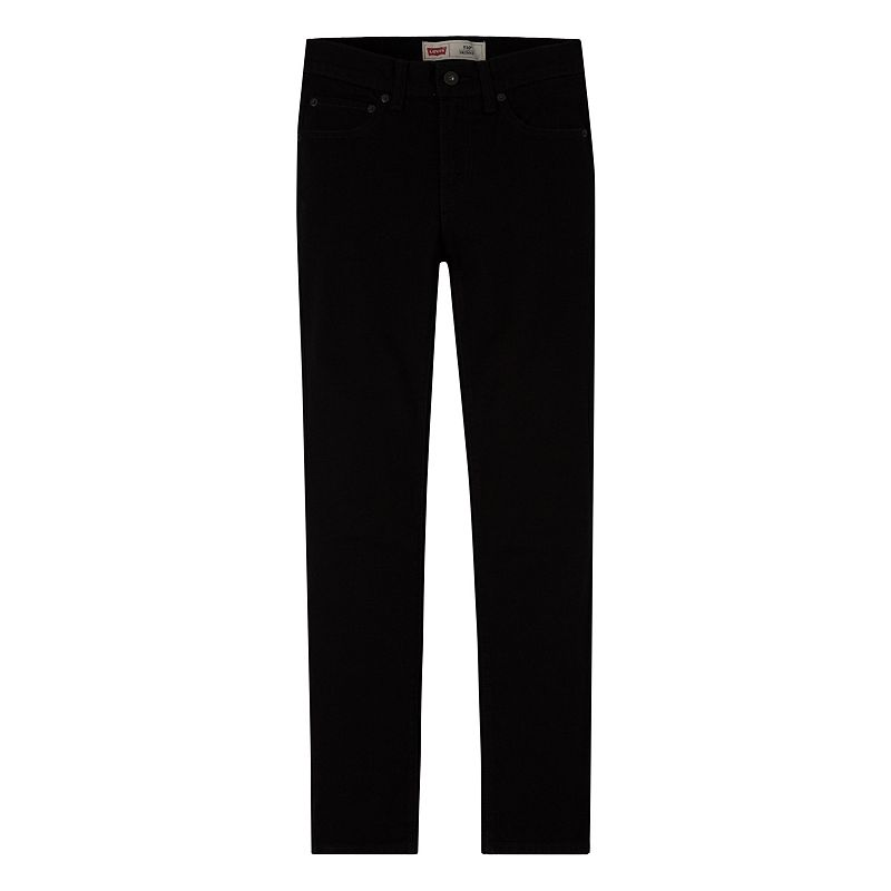 Boys 8-20 Levi's 510 Skinny Stretch Jeans, Boy's, Size: 8, Black