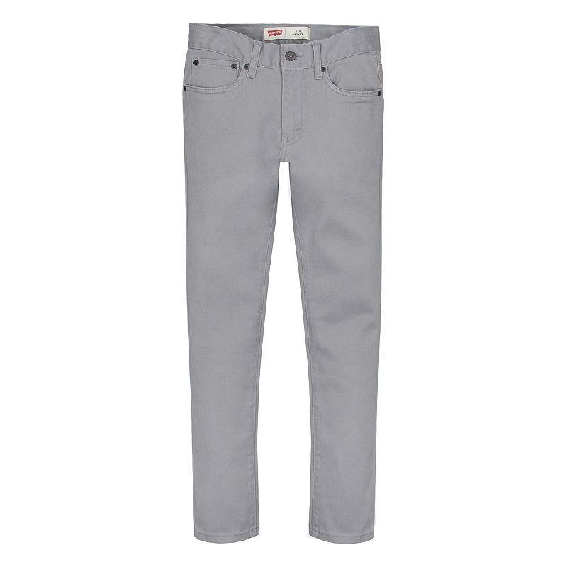 Boys 8-20 Levi's 510 Skinny Stretch Jeans, Boy's, Size: 8, Grey