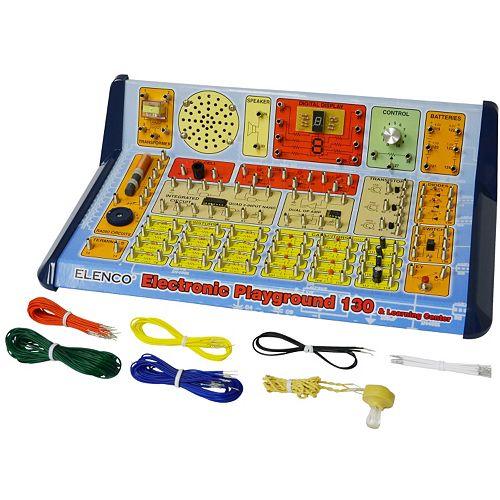 Elenco 130-in-1 Electronic Playground Set