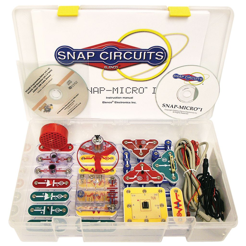 Elenco Snap Circuits Micro I Standard Set