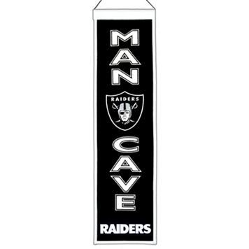 Oakland Raiders Man Cave Banner