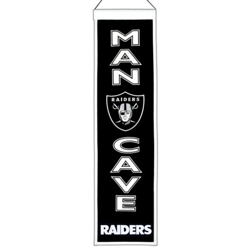 Oakland Raiders Man Cave Banner