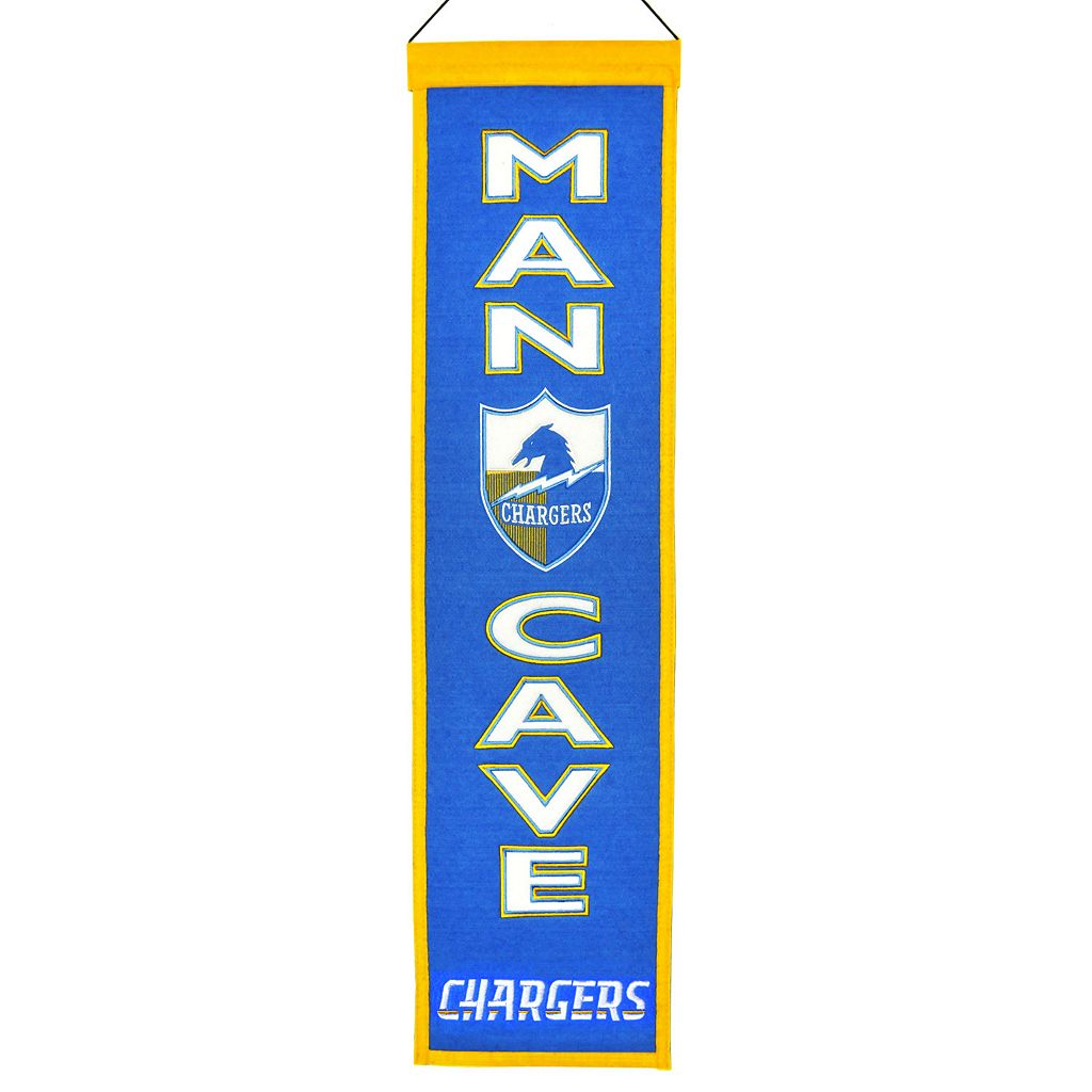 San Diego Chargers Man Cave Banner