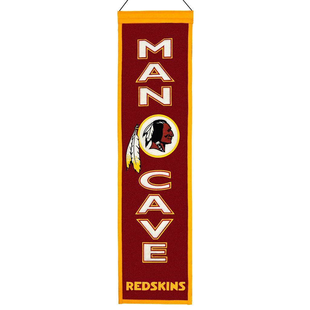 Washington Redskins Man Cave Banner