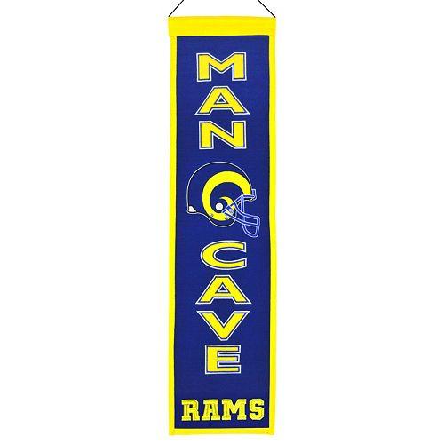 Saint Louis Rams Man Cave Banner
