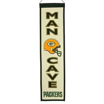 Green Bay Packers Man Cave Banner