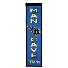 Tennessee Titans Man Cave Banner