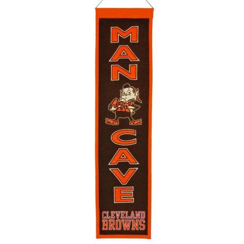 Cleveland Browns Man Cave Banner