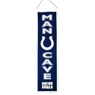 Indianapolis Colts Man Cave Banner