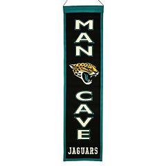 Jacksonville Jaguars Man Cave Banner