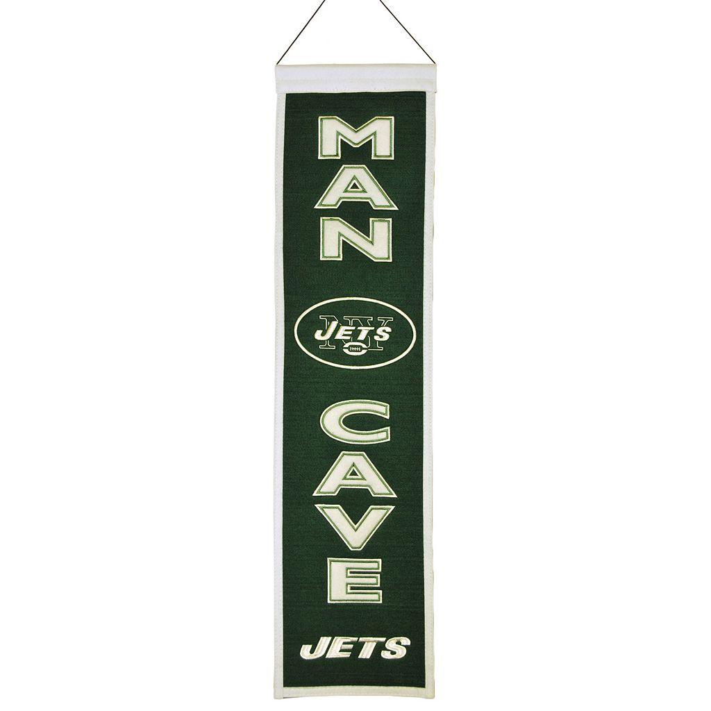 New York Jets Man Cave Banner