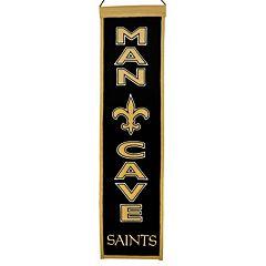 New Orleans Saints Man Cave Banner