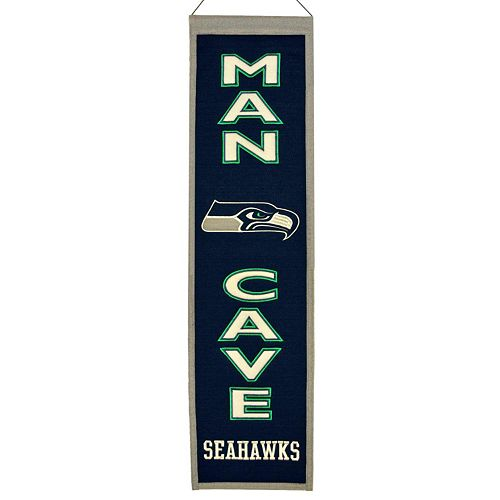 Seattle Seahawks Man Cave Banner