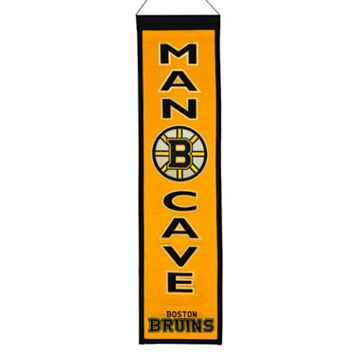 Boston Bruins Man Cave Banner