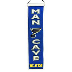 St. Louis Blues Man Cave Banner